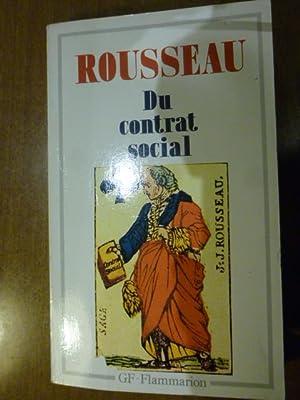 Du contrat social: J.J. Rousseau