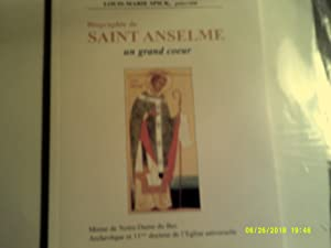 Biographie de SAINT ANSELME un grand coeur