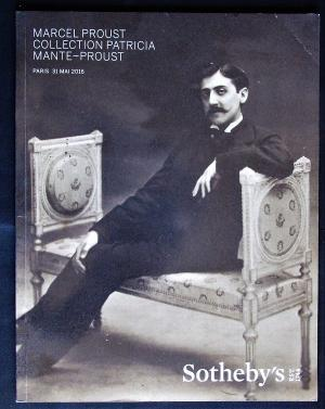 Marcel Proust Collection Patricia Mante-Proust.- Paris 31 mai 2016.