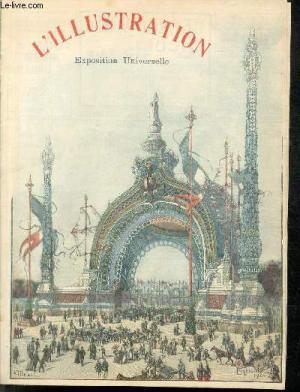 L'ILLUSTRATION N2981 14 AVRIL 1900- EXPOSITION UNIVERSELLE