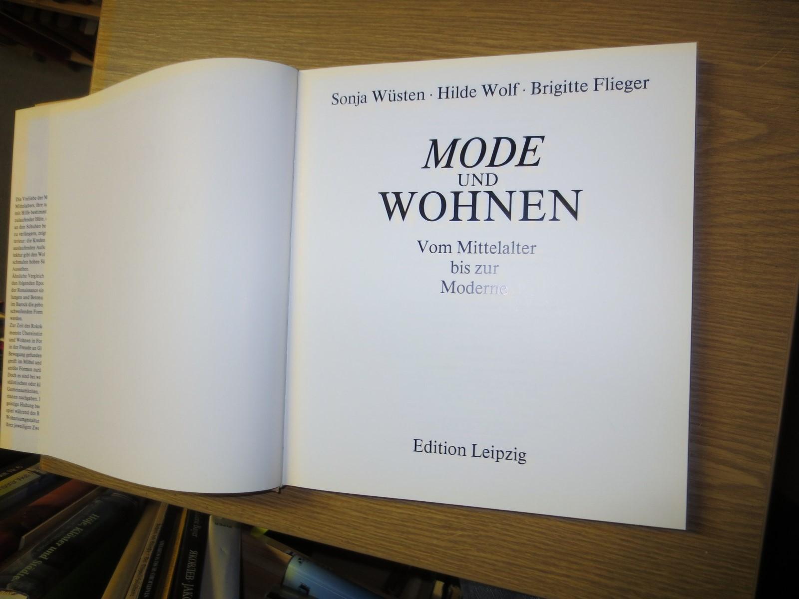 Mode Und Wohnen Vom Mittelalter Bis Zur Moderne Von Wüstensonja