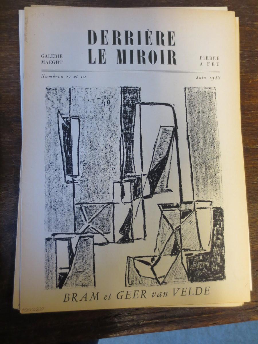 Derriere le miroir bram van velde von beckett for Maeght derriere le miroir