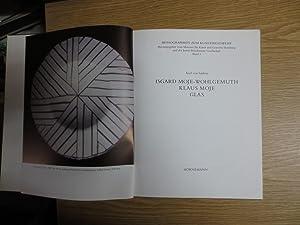 Isgard Moje-Wolgemuth, Klaus Moje - Glas. Monographien: von Saldern, Axel