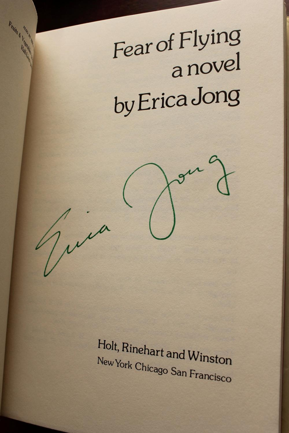 fear of flying by erica jong Isadora white wing is young, jewish, unhappily married, heavily psychoanalysed, and deeply interested in sex her husband bennett is a good dancer and great in the sack, but they barely.