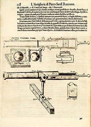 L'Artiglieria . divisa in tre libri .: SARDI, Pietro. Geometrical