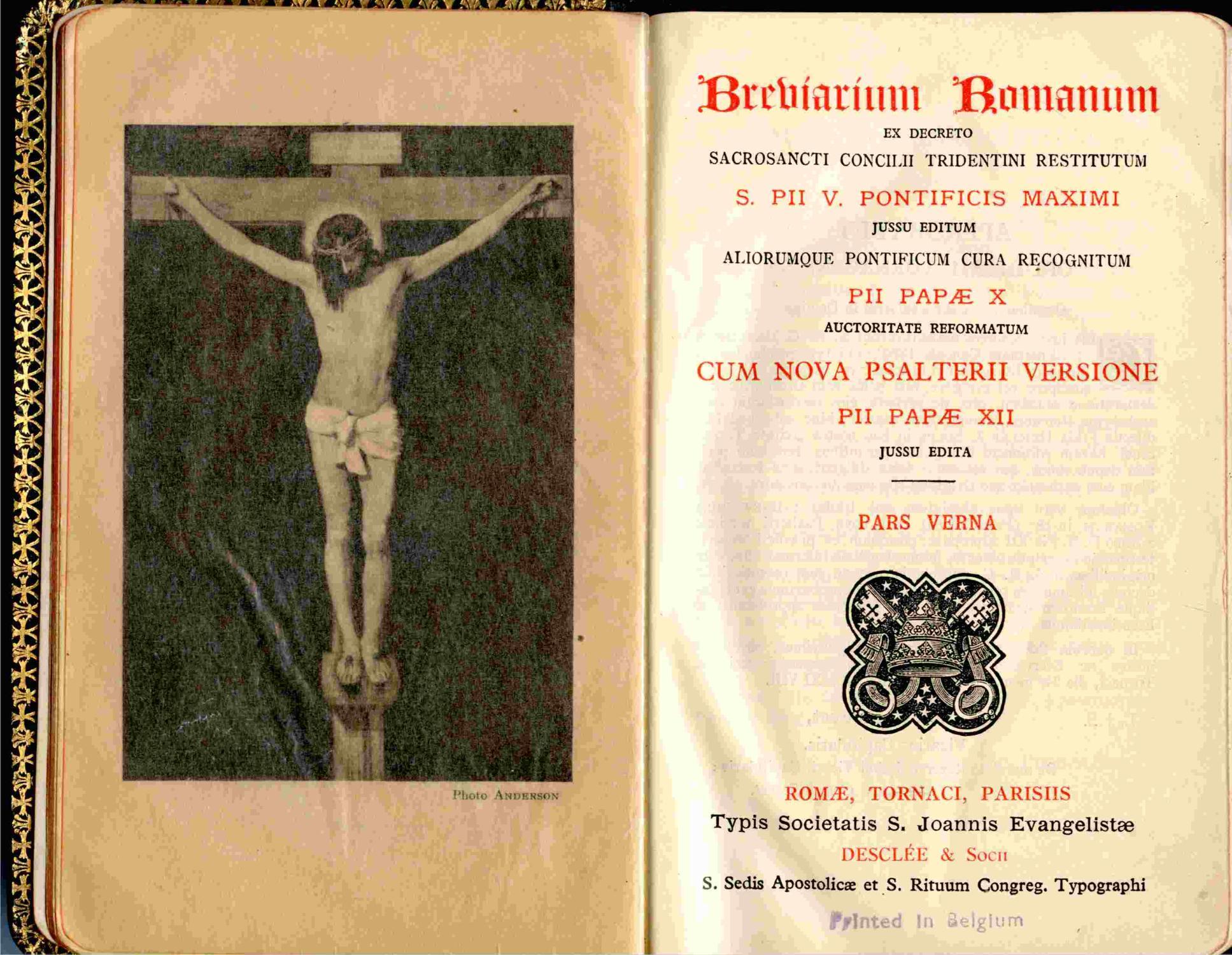 Resultado de imagen para breviarium romanum