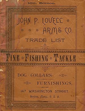 John P. Lovell Arms Co., Trade List,: Lovell Arms Co.