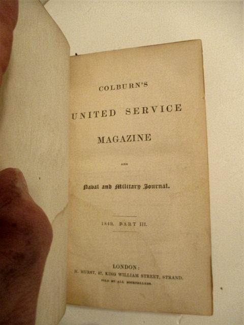 colburn's united service magazine - Used - AbeBooks