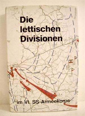 Die lettischen Divisionen im VI. SS-Armeekorps.: Stober, Hans.