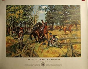 Road to Fallen Timbers. US Army in Action. #21-38.