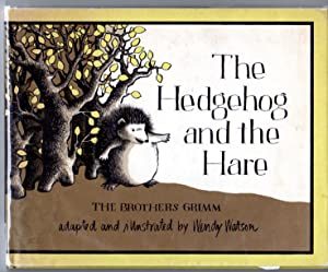 The Hedgehog and the Hare (signed): Grimm, Brothers