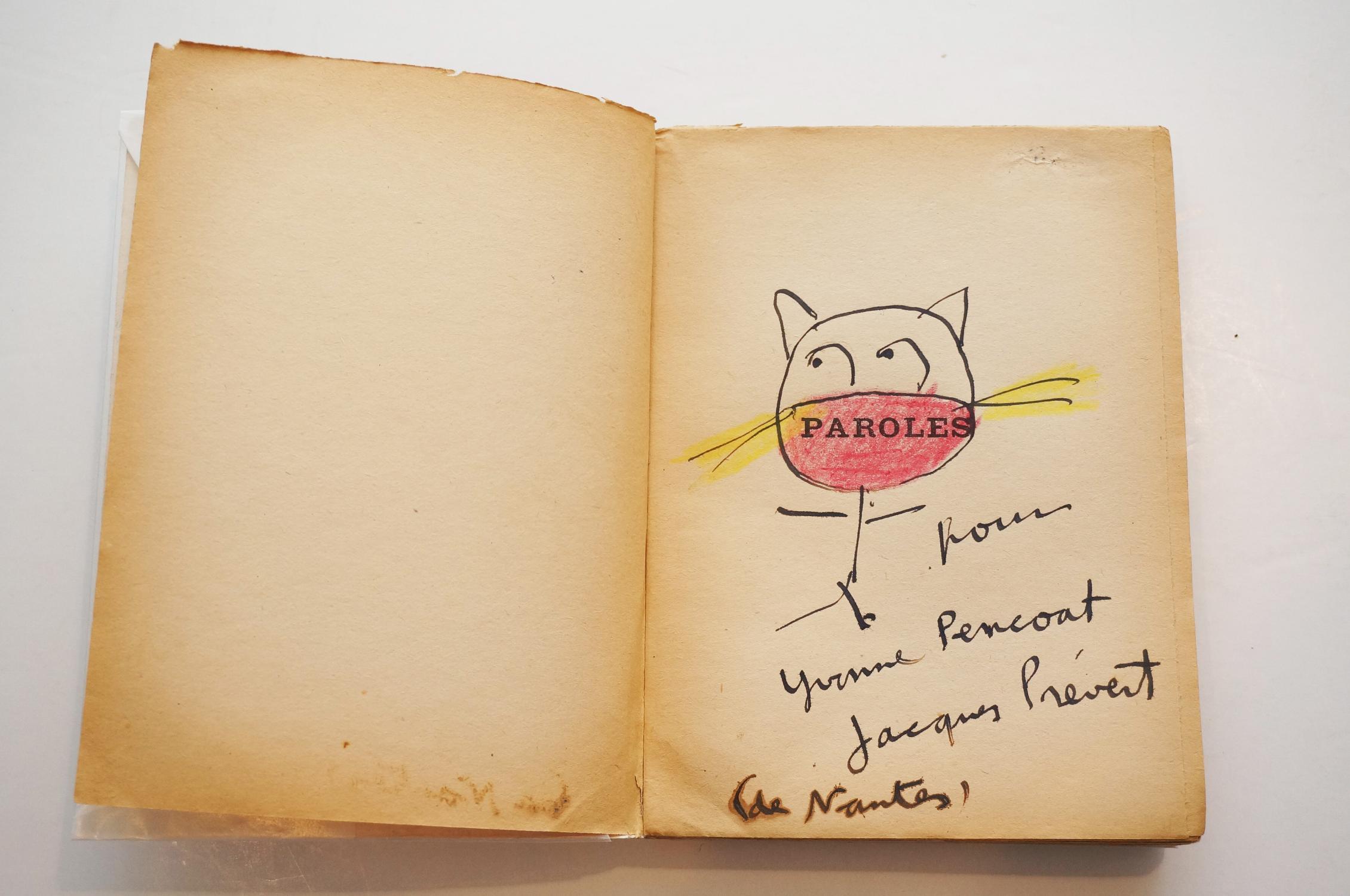Paroles - LE Point Du Jour - Gallimard