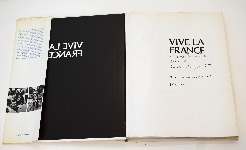 Vive_la_France_NOURISSIER_François__CARTIERBRESSON_Henri_Très_bon_Couverture_rigide