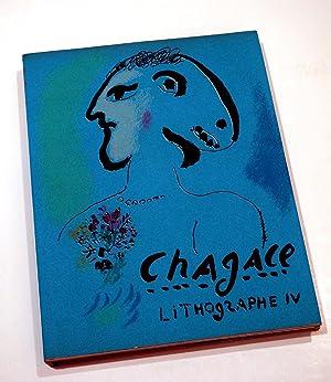 Chagall lithographe IV 1969-1973: MOURLOT Fernand SORLIER