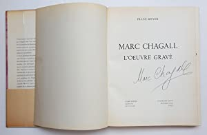 Marc Chagall l'Oeuvre gravé: MEYER, Franz
