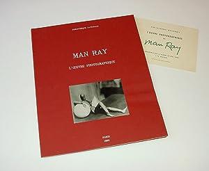 MAN RAY. EXPOSITION DE L'OEUVRE PHOTOGRAPHIQUE