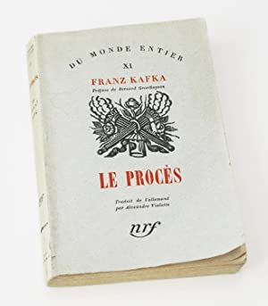 Le Procés [Der Prozess]: KAFKA, Franz -