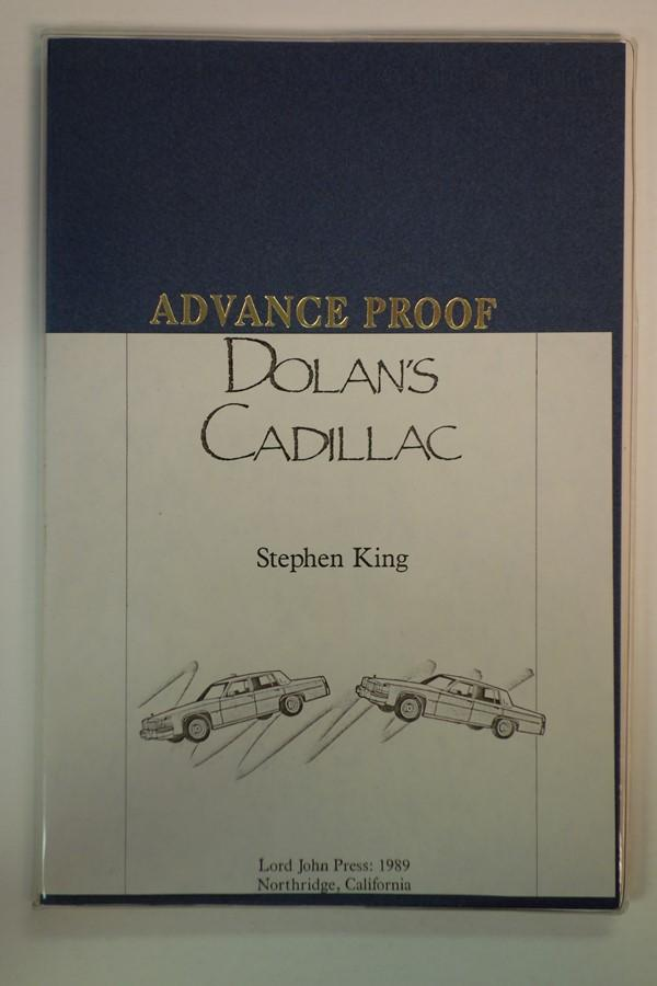 Dolan's Cadillac Stephen King (Advance Proof) Fine Softcover