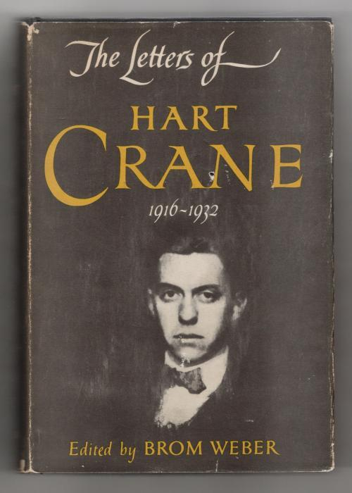 The Letters of Hart Crane by Hart Crane (First Edition)   [Bon] [Couverture rigide] The Letters of Hart Crane by Hart Crane (First Edition) A firm square copy with sharp corners. Moderate wear to the jacket. Sunned spine. Rubbing to extremities. A very small hole to cover next to the  N  in Crane. Fresh Brodart cover.