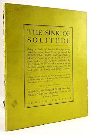 The Sink of Solitude: Beresford Egan