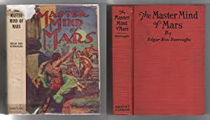 The Master Mind of Mars by Edgar Rice Burroughs (Grosset Reprint) 1st edition DJ