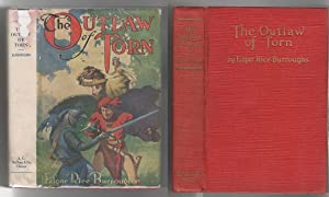 The Outlaw of Torn by Edgar Rice Burroughs (First Edition) Original Dust Jacket