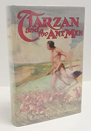 Tarzan and the Ant Men by Edgar Rice Burroughs 1st Edition J. Allen St. John