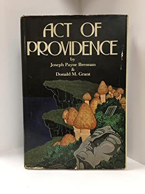 Act of Providence by Joseph Payne Brennan & Donald M. Grant (1st Edition) Signed