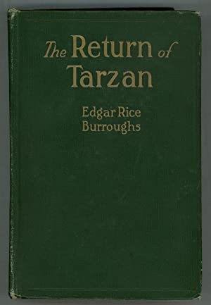 The Return of Tarzan by Edgar Rice Burroughs Second Edition J. Allen St. John art
