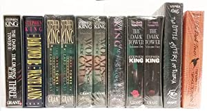 The Dark Tower Series by Stephen King (8 of 9) Deluxe Edition Signed Author & Artist Signed