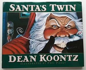 Santa's Twin by Dean Koontz (First Edition): dean Koontz