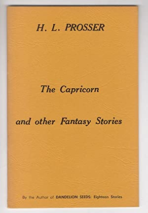 The Capricorn and other Fantasy Stories by H. L. Prosser (Signed) Harlan Ellison's Copy