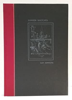 Summer Sketches by Dan Simmons (First Edition) LTD Signed Copy #58