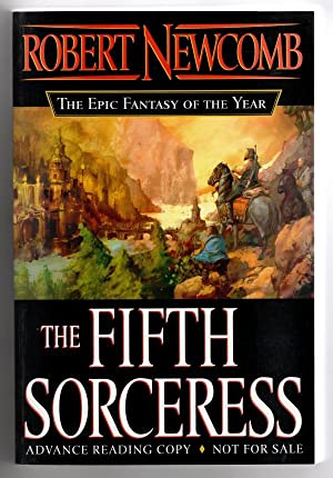 The Fifth Sorceress by Robert Newcomb (First Edition) Uncorrected Proof Signed