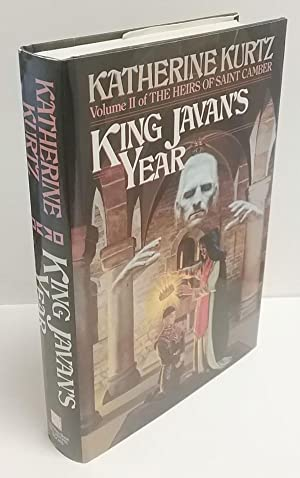 King Javan's Year by Katherine Kurtz (First Edition) Signed Anne McCaffrey's Copy