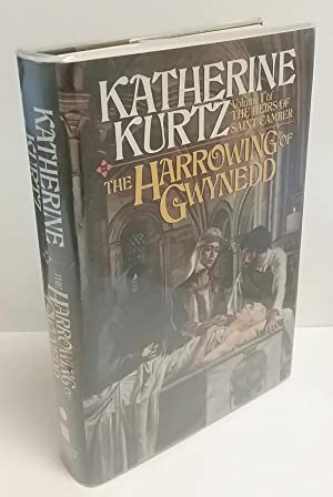 The Harrowing of Gwynedd by Katherine Kurtz Presentation Copy to Anne McCaffrey