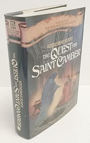 The Quest for Saint Camber by Katherine Kurtz Signed 1st Anne McCaffreys's Copy