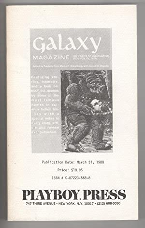 Galaxy: Thirty Years of Innovative Science Fiction (Uncorrected Proof) Signed