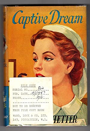 Captive Dream by Laura Whetter (First Edition) Ward Lock File Copy