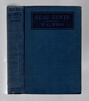 Beau Geste by P.C. Wren (Photoplay Edition): P.C. Wren