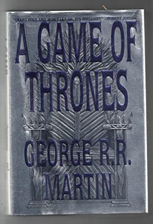 A Game of Thrones by George R.R. Martin (First Edition) Signed