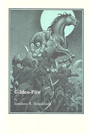 Gilden-Fire by Stephen R. Donaldson signed, limited Signed