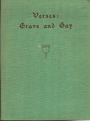 Verses: Grave and Gay: Smith, George Adam
