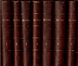 Heinrich Heine's Sammtliche Werke (Heinrich Heine's Sämmtliche Werke), in Seven ...