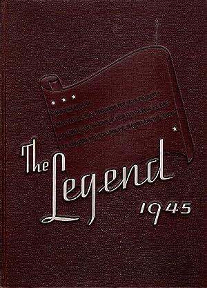 North Side High School Legend Yearbook, 1945: To Girlhood, Boyhood Look the Teacher and the School:...