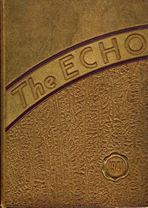 The Echo, 1941 Central Catholic High School Yearbook, Fort Wayne, Indiana: Senior Class (Eds.)