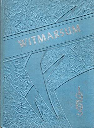 Bethany Christian High School Witmarsum 1963 Yearbook: Senior Class (Eds.)