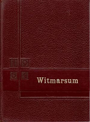 Bethany Christian High School Witmarsum 1964 Yearbook: Senior Class (Eds.)