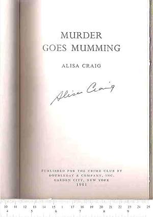 Murder Goes Mumming: Craig, Alisa (Charlotte