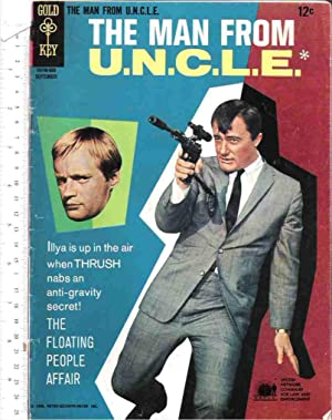 The Man from U.N.C.L.E., No. 8, September, 1966